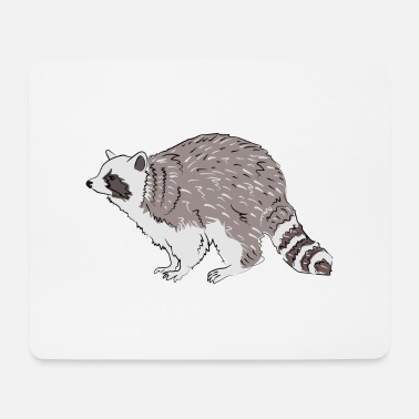 Raccoon raccoon - Mouse Pad