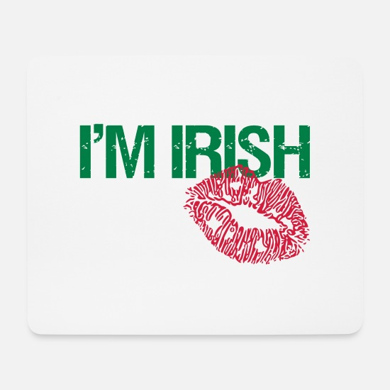 Tenderness Mouse Pads - IRISH - Mouse Pad white