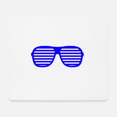 Shade blue shades - Mouse Pad