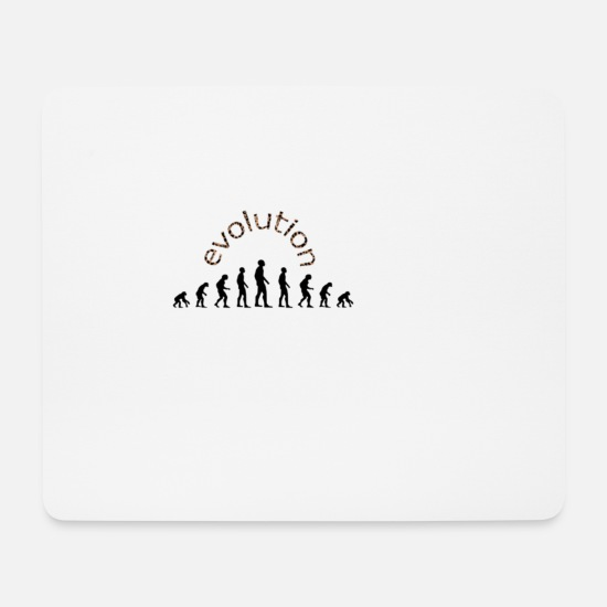 Development Mouse Pads - evolution - Mouse Pad white