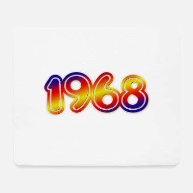 Year Of Birth Birth Year 1968 year of birth - Mouse Pad