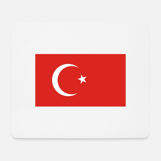 Country Mouse Pads - Turkey - Mouse Pad white