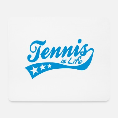 Tennis Is Life tennis is life - retro - Tapis de souris