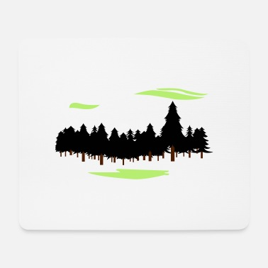 Forest Forest Forest - Mouse Pad