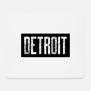 Down With Detroit Detroit USA Americas Cities City Michigan detroit - Mouse Pad