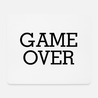 Game Over GAME OVER - Alfombrilla de ratón (horizontal)