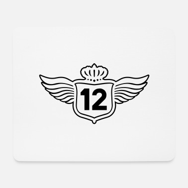 Twelve shield_12__f1 - Mouse Pad