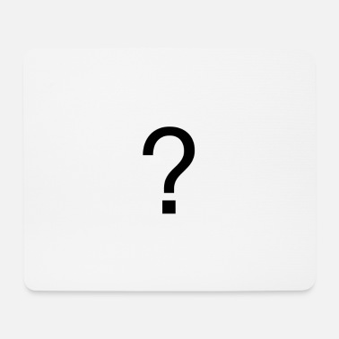 Question mark - Mouse Pad