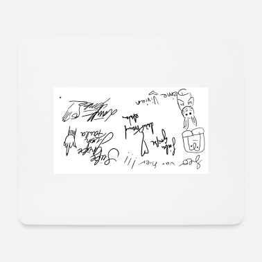 Sketch sketch - Mouse Pad