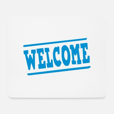Panel welcome panel - Mouse Pad