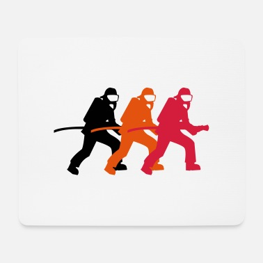 Fire Department firefighter_02 - Mouse Pad
