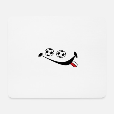 Soccer Ball Polen Football Smilie - Muismat