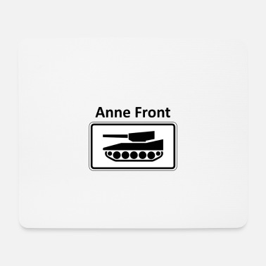 Warfare Anne Front - Mouse Pad