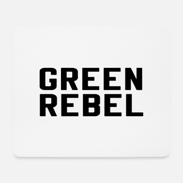 Greenrebel GREENREBEL schwarz - Mousepad