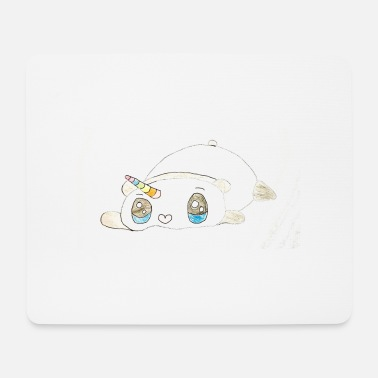 Kid Kids for Kids: sleepingunicorn - Mousepad
