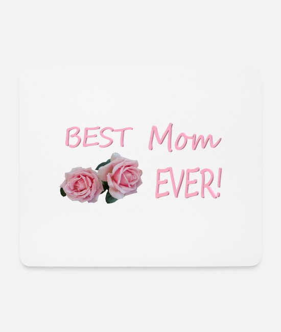 Birthday Present Mouse Pads - Gift design for MAma - Mouse Pad white