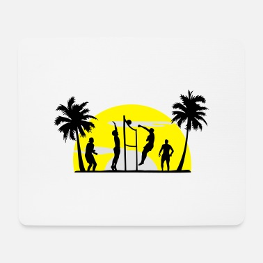 Beach Volleyball beach volleyball, volleyball - Mouse Pad