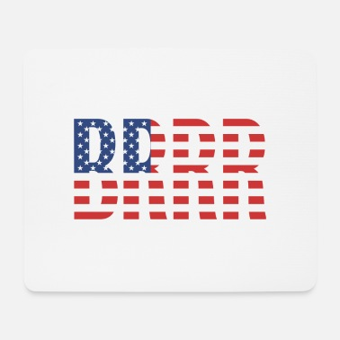 Federal Reserve USA BRRRRR - Mouse Pad