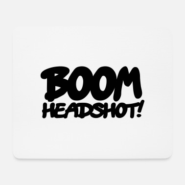 Head Shot boom headshot! 1c BE - Muismat