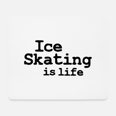 Velocidad ice skating is life - Mouse Pad