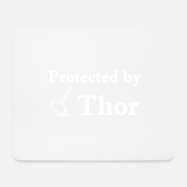 Donnergott Protected1 - Mousepad