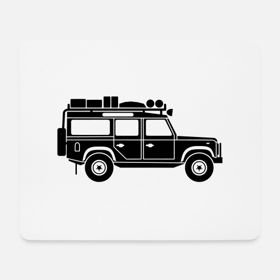 Defender Mousepads  - Defender D110 Expedition - Mousepad Weiß