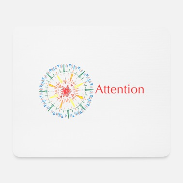 Attention Attention - Mouse Pad