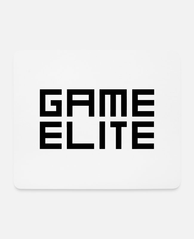 Gamepad Mousepads - Game Elite - Mousepad Weiß