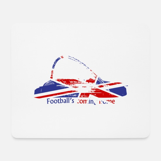 Union Jack Mouse Pads - Wembley Stadium Union Jack - Mouse Pad white