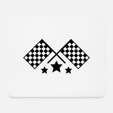 Racing Flags race flags - Mouse Pad