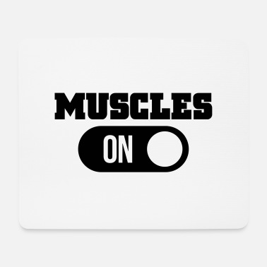 Muscle muscles - Mouse Pad