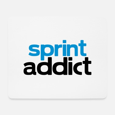 Sprinting sprint addict - Mouse Pad