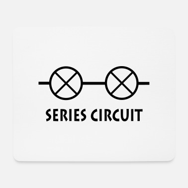 Ampoule series_circuit_p1 - Tapis de souris