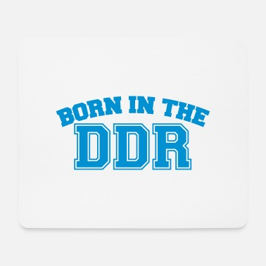 Gdr Born in the GDR - Mouse Pad