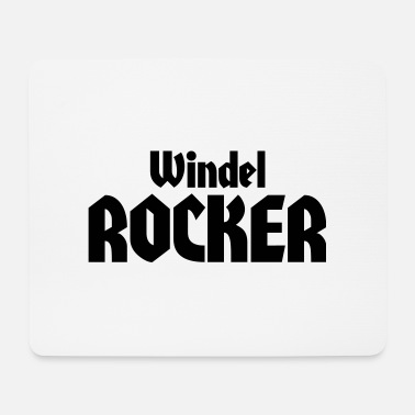 Windel windel rocker - Mousepad