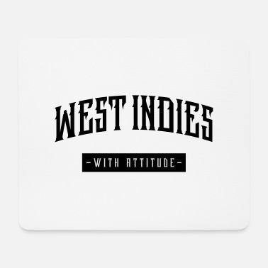 Indie west indies - Tapis de souris