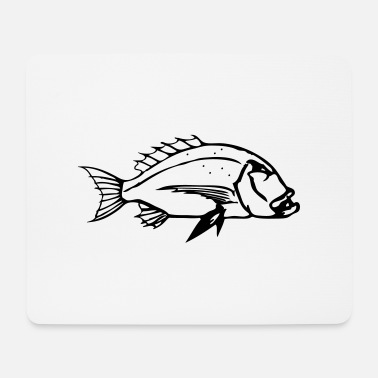 Pesca dentex - Mouse Pad