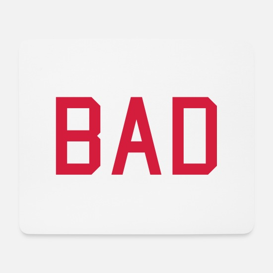 Taste Mouse Pads - bad - Mouse Pad white