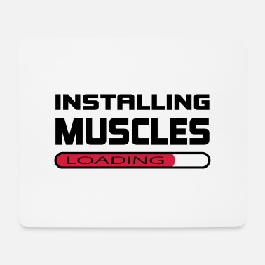 Installation Installer des muscles Installer Muscle Gift - Tapis de souris