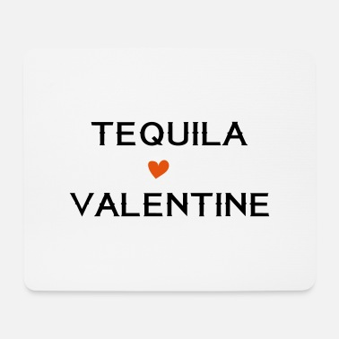 Cicchetto Tequila Is My Valentine - Tappetino per mouse (orizzontale)