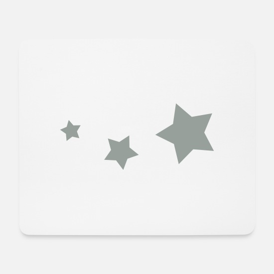 Star Mouse Pads - Stars, star - Mouse Pad white