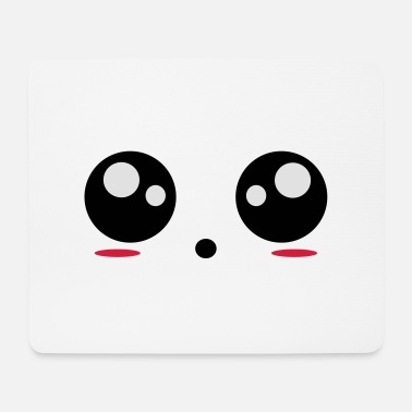 Smiley Eyes - Mouse Pad