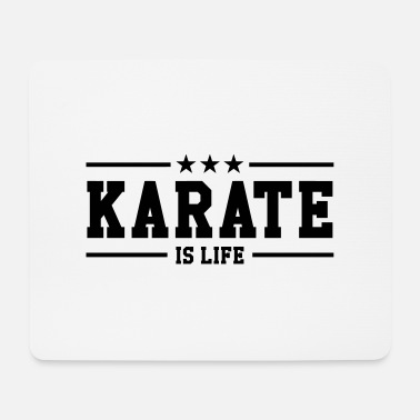 Shaolin Karate is life - Mouse Pad