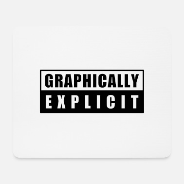 Word Comedy Party graphically explicit - Mouse Pad