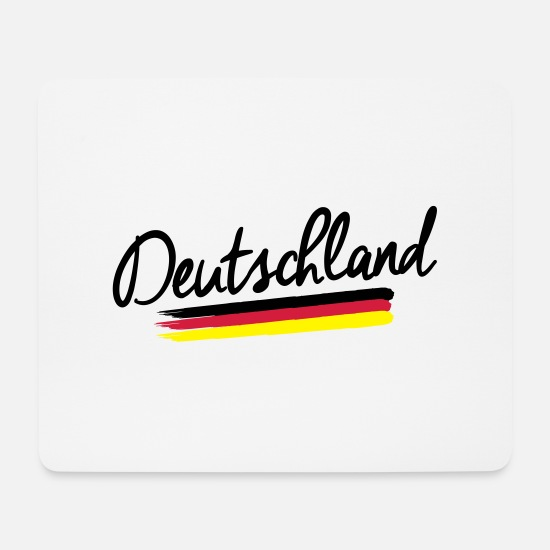 Federal Republic Of Germany Mouse Pads - Germany - Germany - Federal Republic of Germany - Mouse Pad white