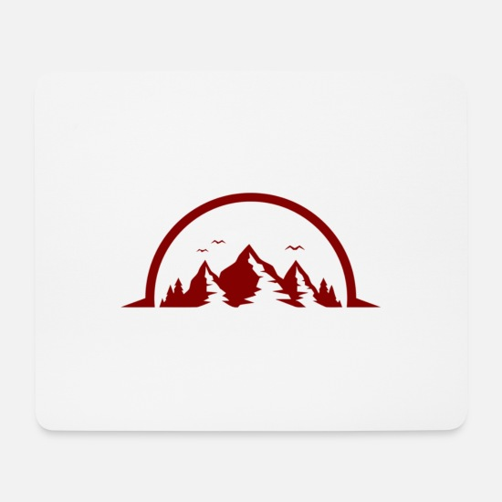 Outdoor Mousepads  - outdoor - Mousepad Weiß
