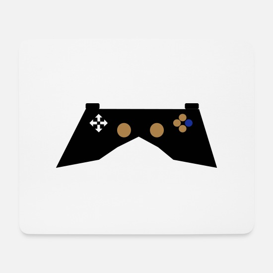 Videospiele Mousepads  - Gaming controller - Mousepad Weiß
