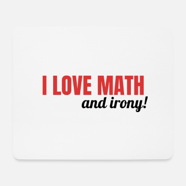 Gift ideas for mathematician math teacher Lustig - Mouse Pad