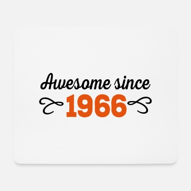 Awesome Since awesome since 1966 - Tappetino mouse