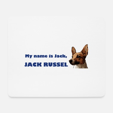 Jack my name is jack blue - Mousepad